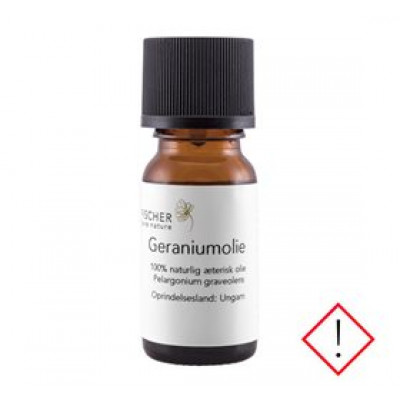Fischer Pure Nature Geraniumolie æterisk • 10ml.