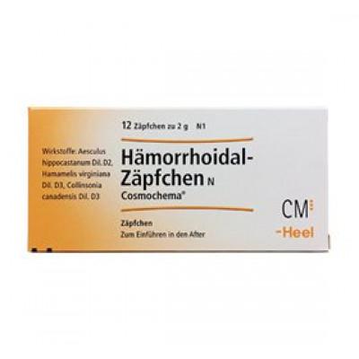 Biovita Hæmorrhoidal stikpille indh. 12 stk