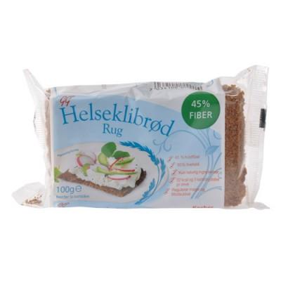 Carefood Helseklidbrød rug • 100 g.