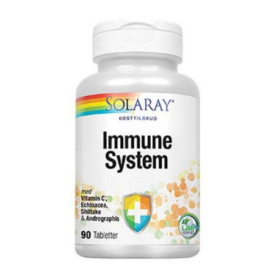 Solaray Immune System 90 tabletter