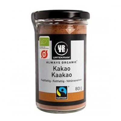 Urtekram Kakao fedtfattig Ø • 80g.