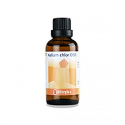 Allergica Kalium chlor. D30 Cellesalt 4 • 50ml.