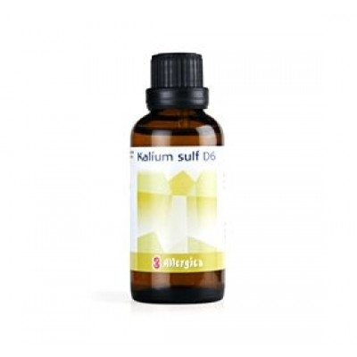Allergica Kalium sulf. D6 Cellesalt 6 • 50ml.