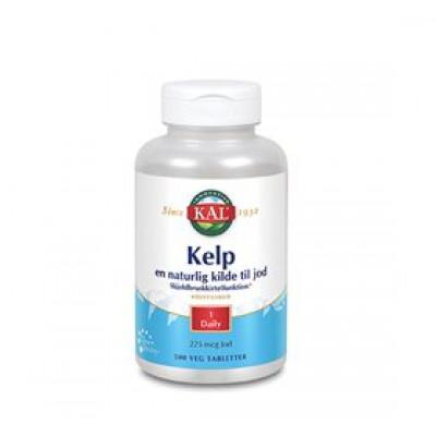 KAL Kelp indeh. 225 mcg jod fra Kelpplanten • 500 tab.