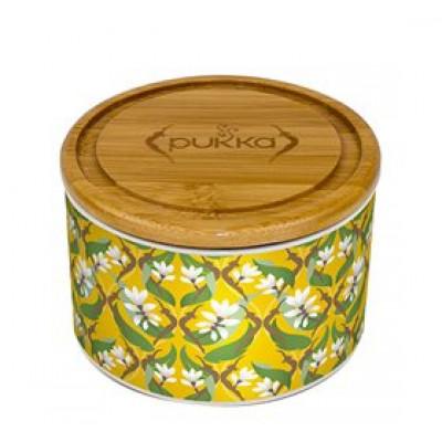 Pukka Keramik krukke Turmeric Ø Gold • 10 br.