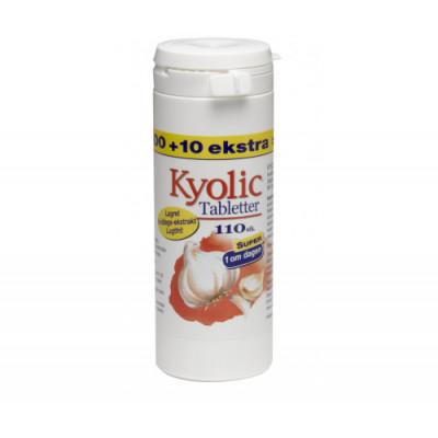 Kyolic 1 om dagen • 100 + 10 tabletter