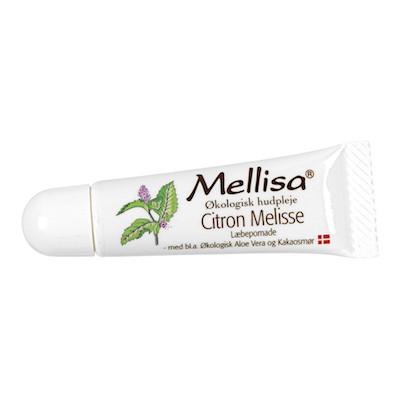Mellisa Læbepomade M. Citronmelisse • 10 ml.