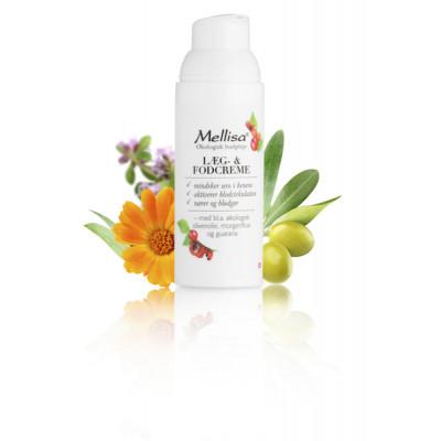 Mellisa Læg- og Fodcreme • 50 ml.