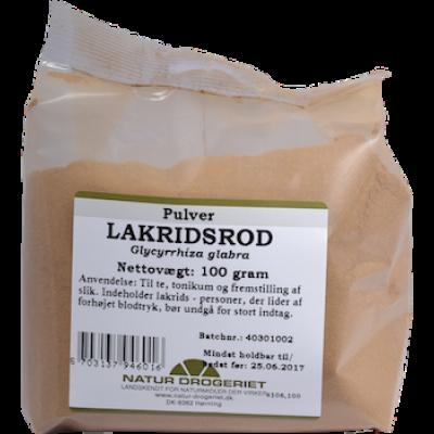 Lakridsrodspulver • 100 g.