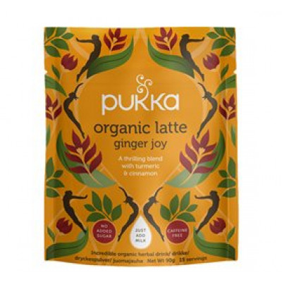 Pukka Latte Ginger Joy Ø • 90g.