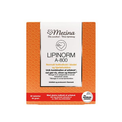 Mezina Lipinorm A-800 • 90 tabletter
