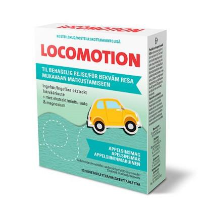 Locomotion Sugetabletter m. ingefær til transport • 20 tabletter
