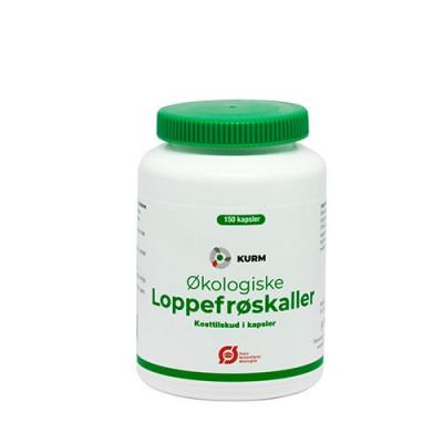 Kurm Pharma Loppefrøskaller Ø 150 kapsler