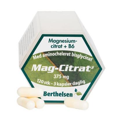 DFI Mag-Citrat Berthelsen • 120 kap.