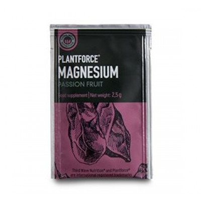 Plantforce Magnesium Passionsfrugt • 2g.
