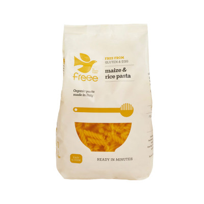 Majs & Ris Fusilli Pasta glutenfri Ø • 500 g.