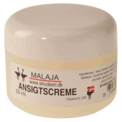 Malaja Ostrich Oil Ansigtscreme • 50 ml.