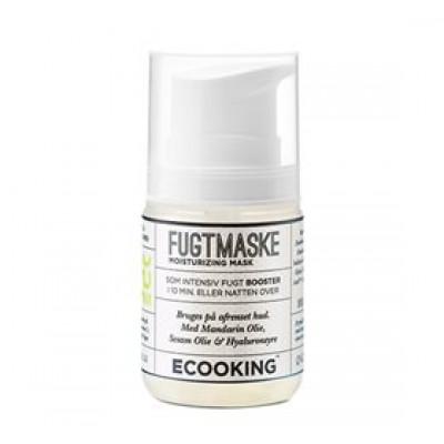 Ecooking Maske fugtgivende med hyaluronsyre og mandelolie • 50ml.