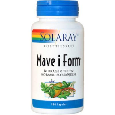 Solaray Mave i Form • 100 kaps.