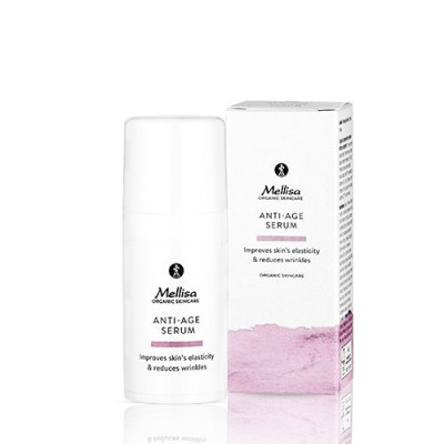 Mellisa Anti-age Serum m. grape, edelweiss, alge 15 ml