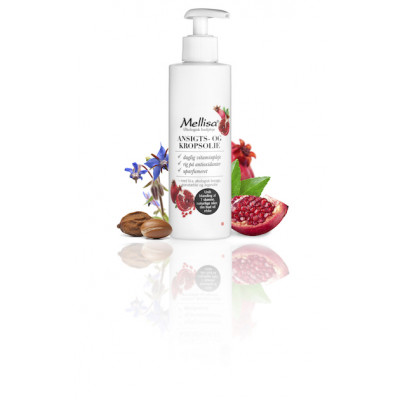 Mellisa Granatæble Oil • 200 ml.
