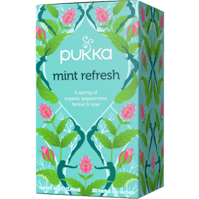 Pukka Mint Refresh • 20 breve