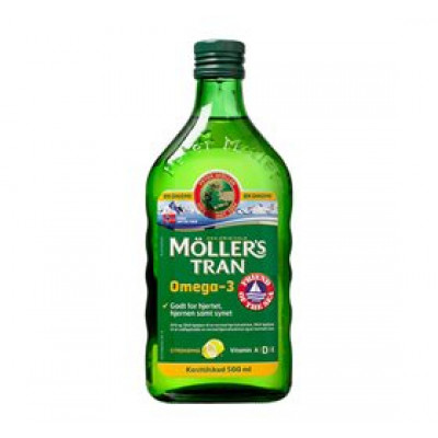 Orkla Møllers Tran med citrus • 500ml.