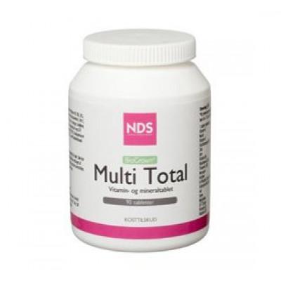 NDS Multi Total multivitamin og mineral • 90 tab.