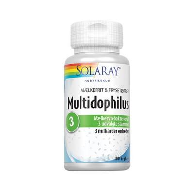 Solaray Multidophilus mælkefri • 100 kaps.