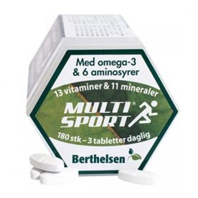 DFI Multisport Berthelsen • 180 tab.