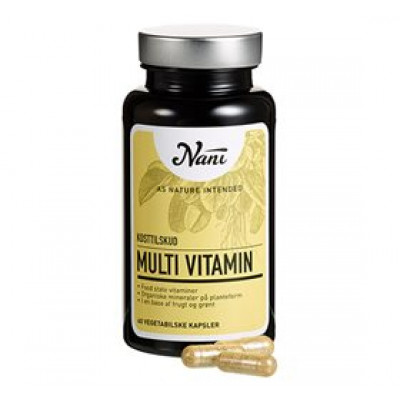 Nani Multivitamin food state • 60 kap.