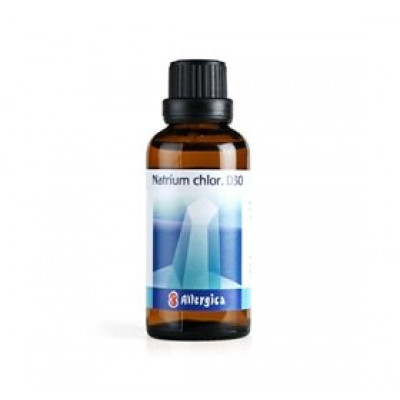Allergica Natrium chlor. D30 Cellesalt 8 • 50ml.