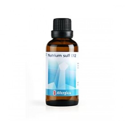 Allergica Natrium sulf. D12 Cellesalt 10 • 50ml.