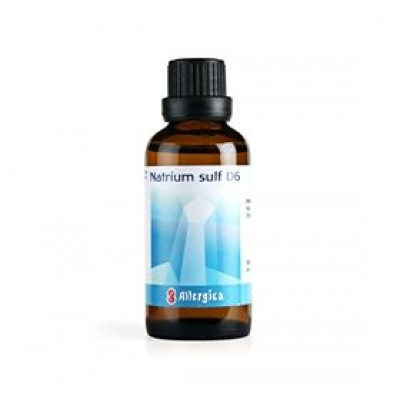 Allergica Natrium sulf. D6 Cellesalt 10 • 50ml.