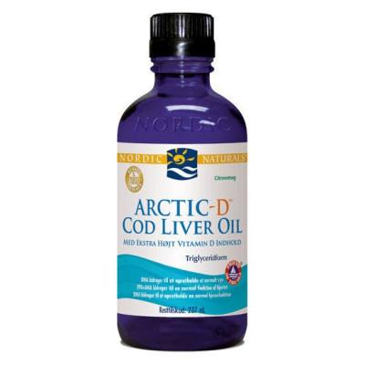 Nordic Naturals Arctic Cod Liver Oil m. d-vitamin - 237 ml