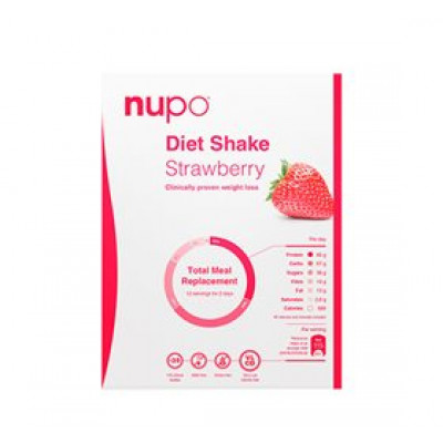 Nupo diet shake jordbær • 384g.