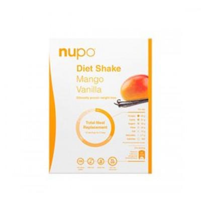 Nupo diet shake mango & vanilie vanille • 384g.