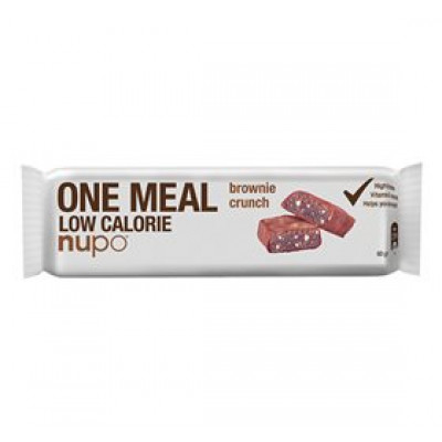 Nupo meal bar brownie crunch • 60g.