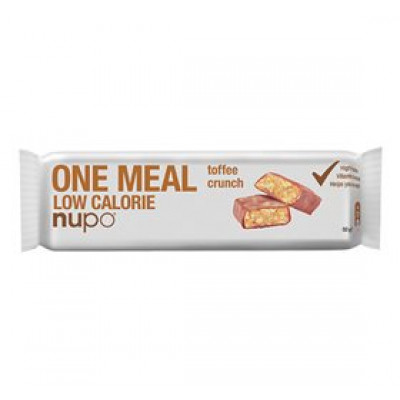 Nupo meal bar toffee crunch • 60g.