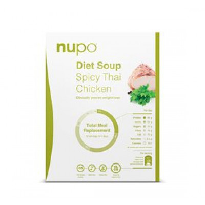 Nupo spicy thai kylling klassisk suppe • 384g.