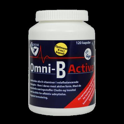 BioSym Omni-B Active • 120 kapsler