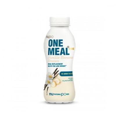 Nupo One meal + prime shake vanilje & banan • 330ml.