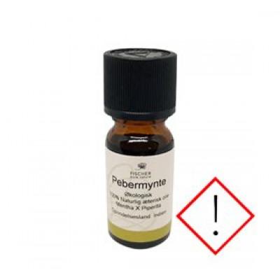 Fischer Pure Nature Pebermynteolie æterisk øko • 10ml.