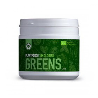 Plantforce Økologisk Greens Ø • 200g.