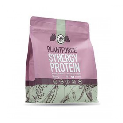 Plantforce Protein bær Synergy • 800g.