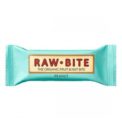 Rawbite Peanut • 50 g.