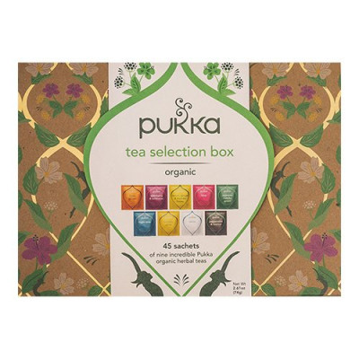 Pukka Selection te Box guld Ø • 45 br.
