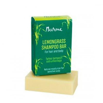OBS Shampoobar Lemongrass for Hair & Body • 100g.