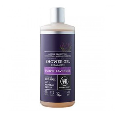 Urtekram Showergel Purple Lavender • 500ml.