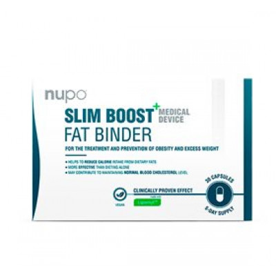 Nupo Slim Boost+ Fat Binder • 30 kap.